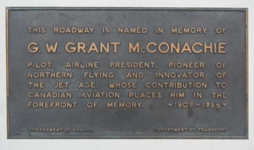 McConachie Plaque