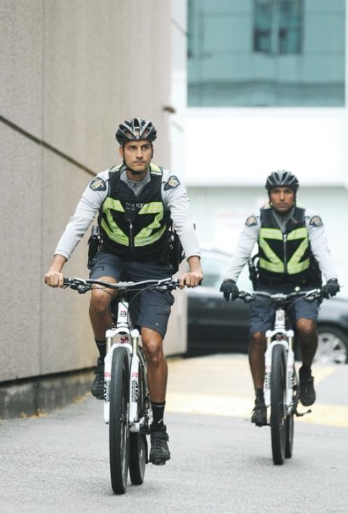 RCMP Bike Squad