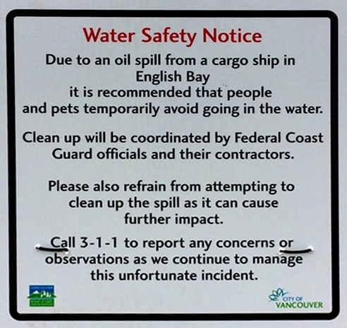 Water Safety Notice