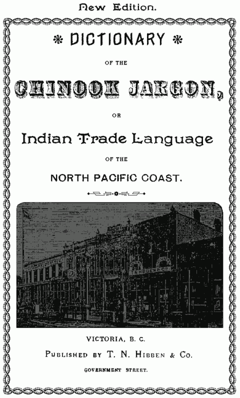 Chinook Jargon - Hibben