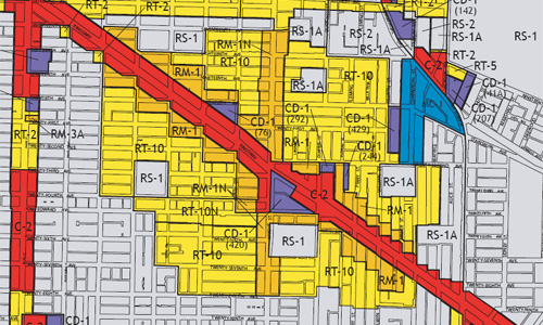 king_edward_village_zoning_map